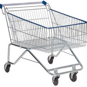 Carrinho de supermercado pequeno