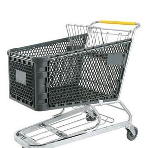 Carrinho para compras de supermercado