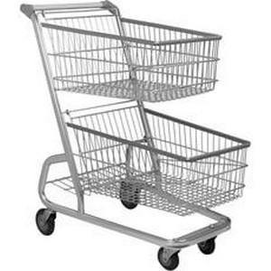 Venda de carrinho de supermercado