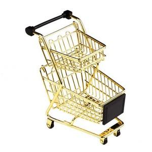 Preço de carrinho supermercado duas cestas