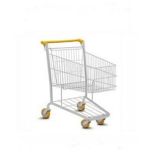 Carrinho para compras de supermercado duas cestas