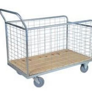 Carrinho de compras para condomínio 140l