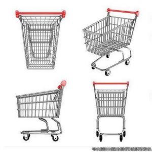 Carrinho de supermercado 210 litros