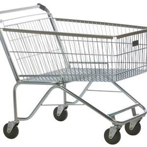 Carrinho de supermercado atacadista