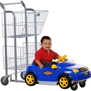 Carrinho de supermercado de criança