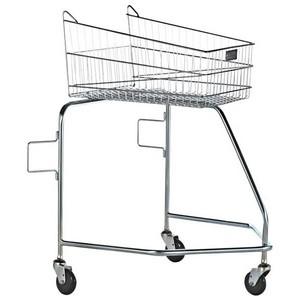 Carrinho de supermercado para deficientes