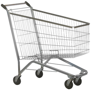 Carrinho de supermercado reformado