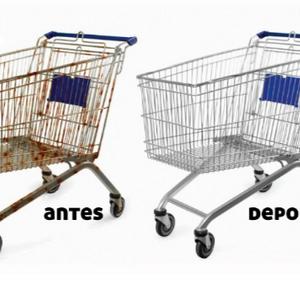 Reforma de carrinho de mercado